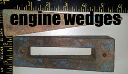 engine wedges